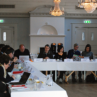 ECOC meeting in Umeå